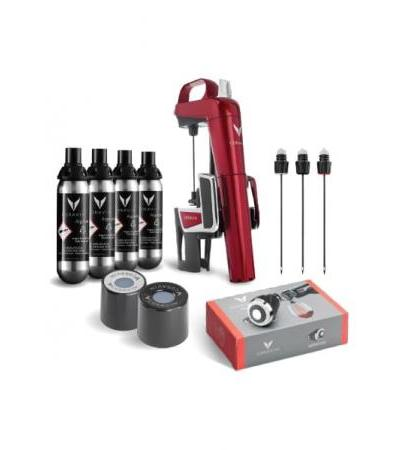 Coravin Wine System Model 2 Elite Candy Apple Red Gift Pack