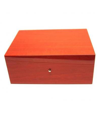 Humidor in radica rosso