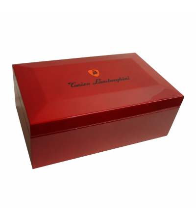 Lamborghini Limited Edition Red Monte Carlo Cigar Humidor